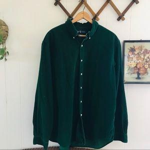 Ralph Lauren Corduroy Button Down Shirt